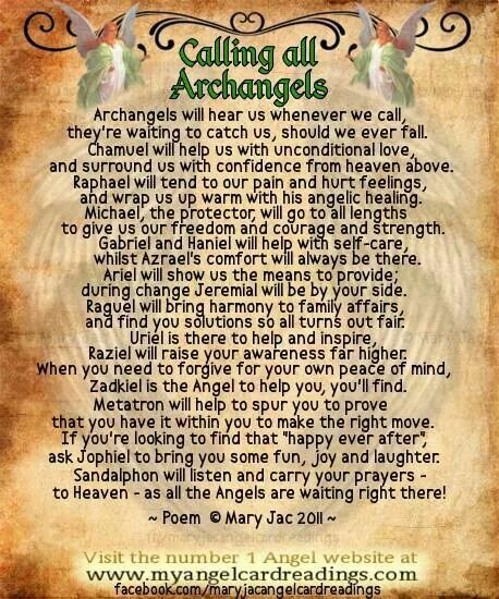Calling All Archangels
