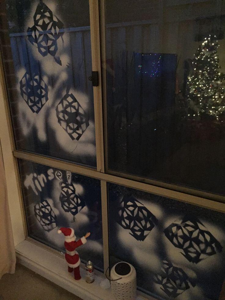 Snowflakes Tinsel style