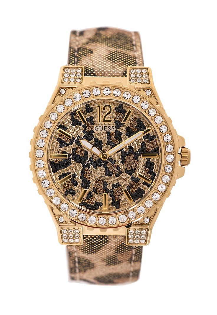 Guess Watch : Leopard printed