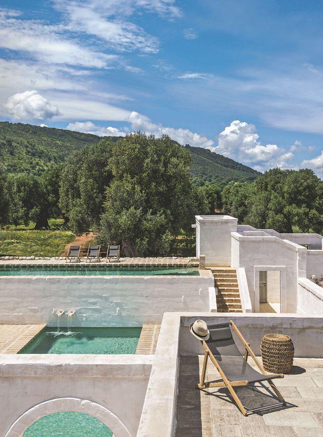 Une piscine de rêve en pleine nature, idéale pour un pur moment de détente