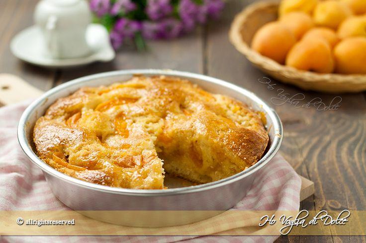 Crostata soffice di albicocche, una ricetta veloce da preparare e senza riposo, basta un mixer. Una ricetta perfetta per la colazione e la merenda estiva.