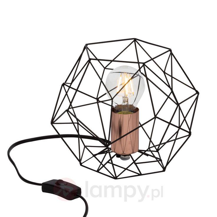 Lampa stołowa Synergy o interesującym kształcie 1509101