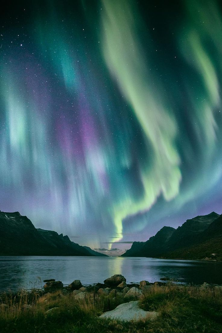 "banshy: ""Tromsø, Norway by: Even Tryggstrand "" (Beauty World Country)"