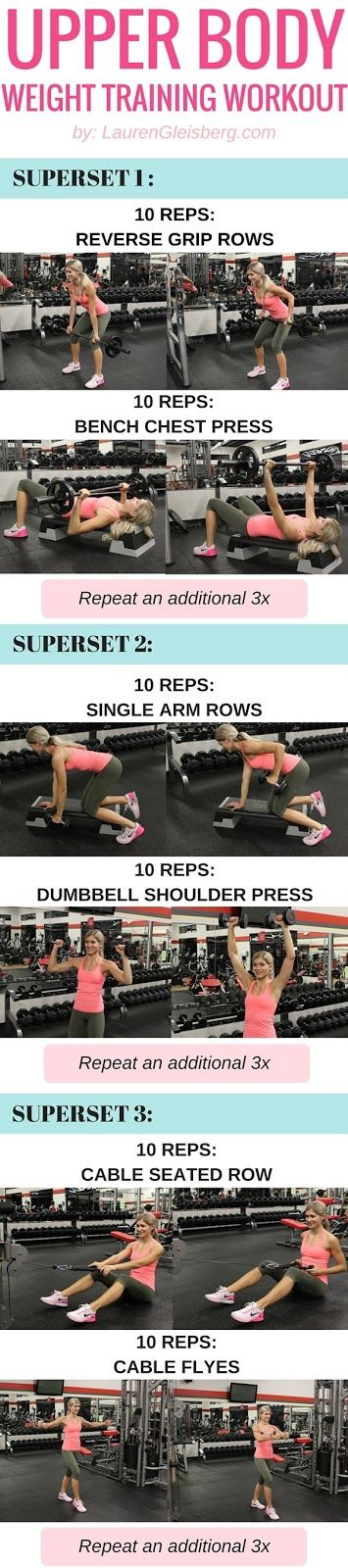 GET FIT STRONG & SEXY WITH THIS UPPER BODY WEIGHT TRAINING WORKOUT FOR WOMEN   #LGBeautyAndBooty Challenge - week 4, day 5 by LaurenGleisberg.com