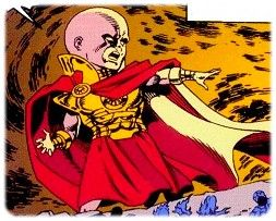 As a Watcher, Aron has powers that seem god-like to humans, but he's not an actual god like Thor. He has psychic powers of telekinesis, telepathy, teleportation and the ability to fire blasts of cosmic energy. He's also able to create force fields and change his appearance at will, but there's no known limit to those powers. His biggest weakness is that he's relatively young for a Watcher, and doesn't have the control and wisdom of older ones.