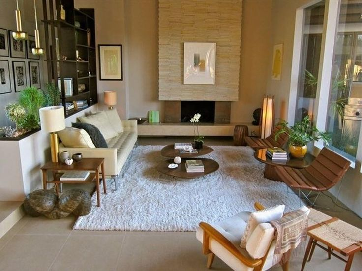 21 Beautiful Mid Century Modern Living Room Ideas Part 44