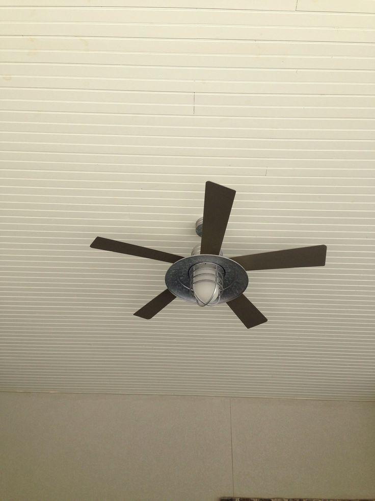 Outside ceiling fan