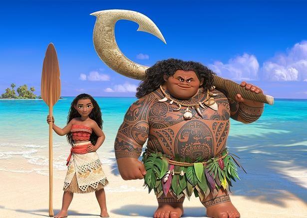 'Moana' próxima animação da Disney com Dwayne Johnson