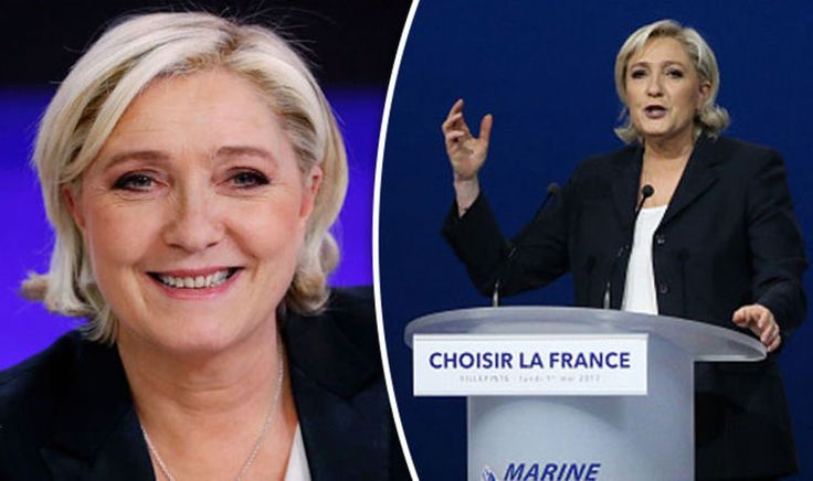 Marine Le Pen to get surge of support from voters in Calais says new poll