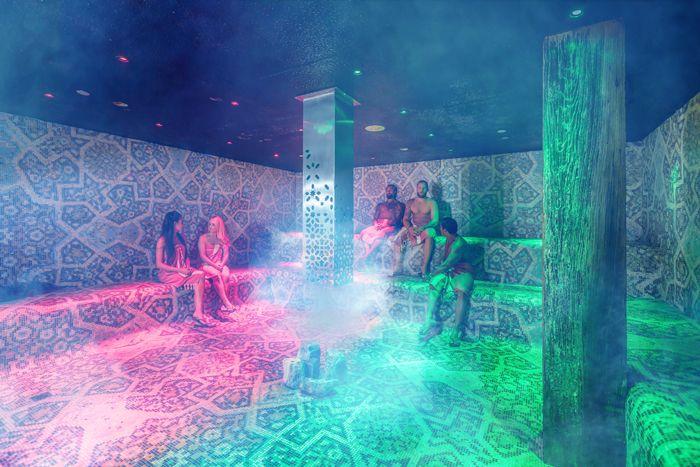 Stunning 500 Square Foot Hammam Steam Room Inside Hammam Spa Toronto Torontospa Spa Hammam Travel