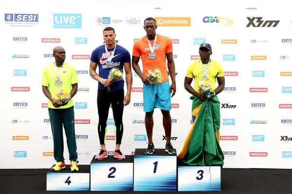 Usain Bolt Photos: Mano a Mano Athletics Challenge with Usain Bolt