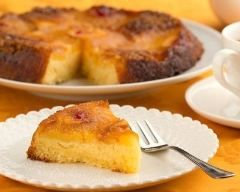 Gâteau renversé à l'ananas Ingrédients