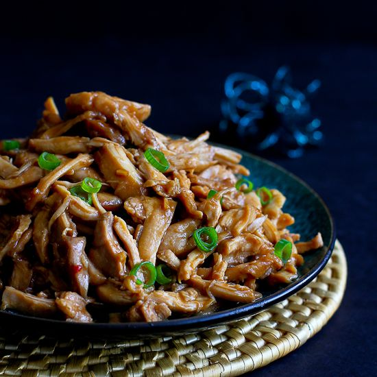 A Slow Cooker Chicken recipe is an easy way to get dinner on the table and you can't beat the fantastic hoisin sauce that flavors this crockpot recipe.