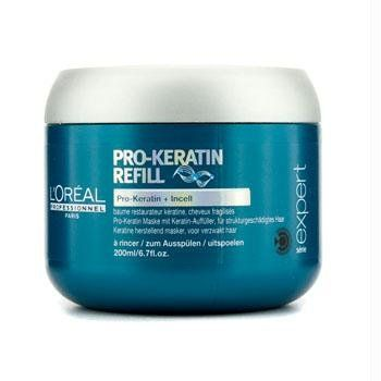 Aplicar en medios y puntas sobre cabello h?medo. Dejar actuar 2-3 minutos. Aclarar.Pro-Keratin Complex +Incell. Compensan la p?rdida de keratina natural del