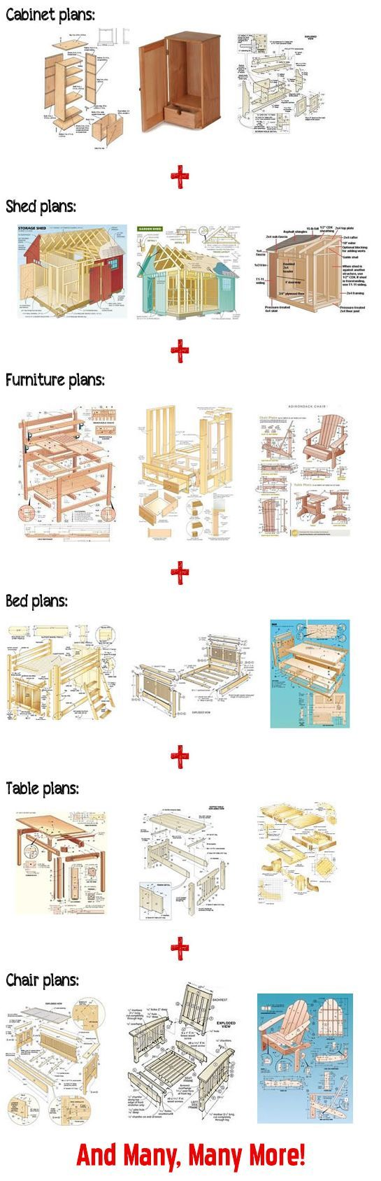 woodworking patterns: