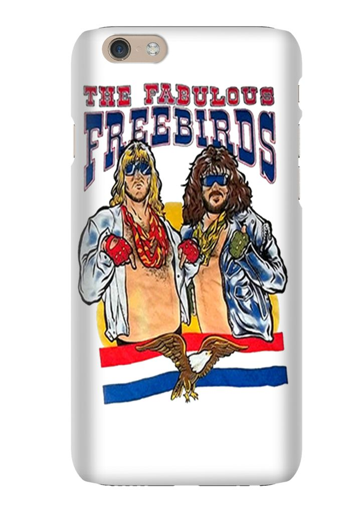 The Fabulous Freebirds WCW Wrestling iPhone 6 iPhone 6 Plus Phone Case