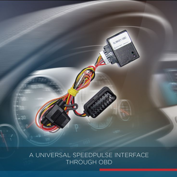 SLIMKEY OBD supplies a solution for all cases in which the installer needs to recover a secure car movement signal. SLIMKEY OBD is connected to the OBD socket and it automatically analyses the CANBUS data detecting the speedometer signal, thus the car moving. This data switches an output which can be used to activate external devices. SLIMKEY OBD includes a OBD Plug&Play harness for a faster and safe interface connection!