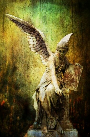 Angel + statue + photo + art 208