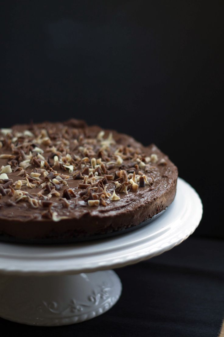 RICH & CREAMY CHOCOLATE TORTE - Erren's Kitchen - This creamy Chocolate Torte Recipe is rich, decadent and utterly delicious!