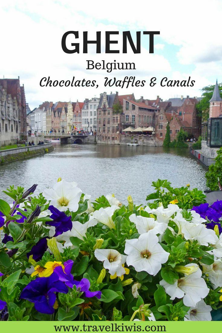 Ghent is a weekend getaway travel destination to explore on foot. This beautiful medieval city with canals, a castle and historical buildings makes for a perfect short stay vacation. Stop to taste the chocolates and sample a craft beer.