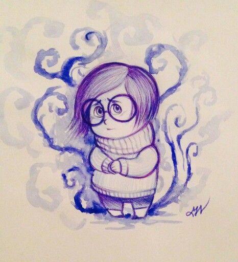 Tristezza! Piccolo sketch di Inside Out :)