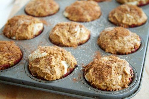 Naturally Ella   Pumpkin Cream Cheese Muffins