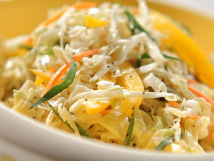 Fresh and Crispy Slaw from FoodNetwork.com