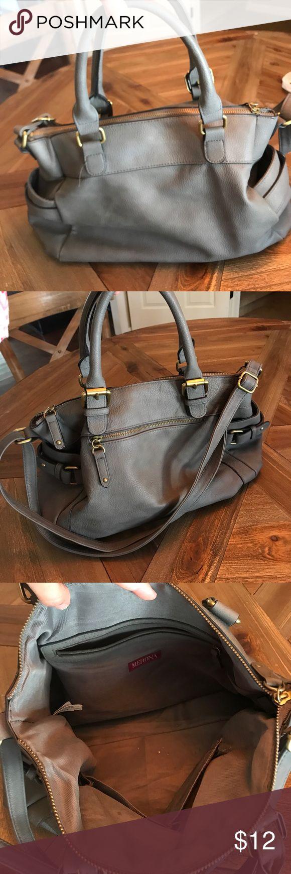 Merona purse! Grey Merona for Target purse! Excellent condition! Merona Bags Shoulder Bags