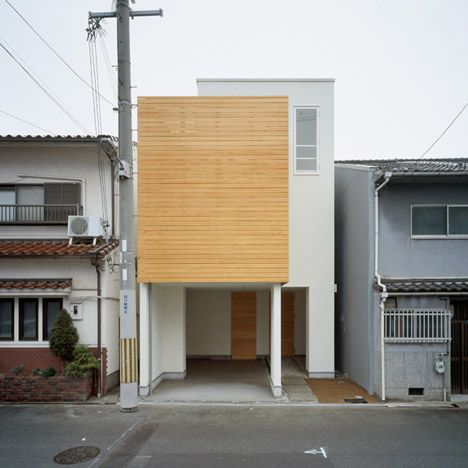 Japanese architecture. House F by Ido Kenji