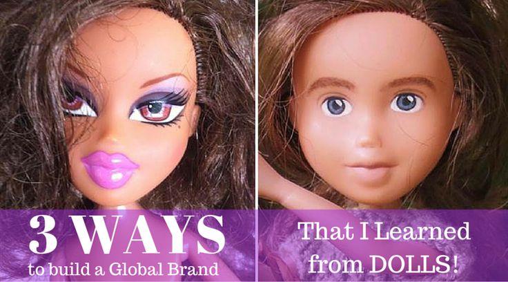 Tree Change Dolls vs. BRATZ dolls