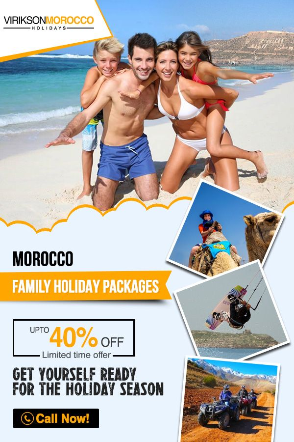 Get a chance to explore the Majestic Morocco and its exotic beaches, Ancient places and Architecture. Book your Family Holiday Packages with Virikson Morocco Holidays and get a chance to save up to 40%. It's a limited time offer.  Call us at 020 37455788 Now for your next exotic trip!  #Traveling ‪#Winterholiday #Moroccotravel #Adventures #Holidays #Travelingram #Tourism #ViriksonMoroccoHolidays #MoroccoHolidayPackages #Travellingmorocco‬