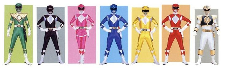 Mighty Morphin' Power Rangers by planeteer1988 on deviantART