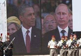 17-Jul-2014 19:05 - POETIN PRAAT MET OBAMA OVER VLIEGTUIGCRASH IN OEKRAÏNE. De Russische president Vladimir Poetin heeft de crash met het toestel van Malaysia Airlines in Oekraïne besproken met de Amerikaanse president...