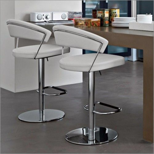 Leather Couch Cleaner Nyc: Calligaris New York Adjustable Swivel Bar Stool, Leather