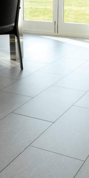 Granite laminate floor tiles