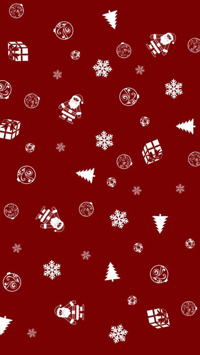 Cute Christmas Wallpapers Red