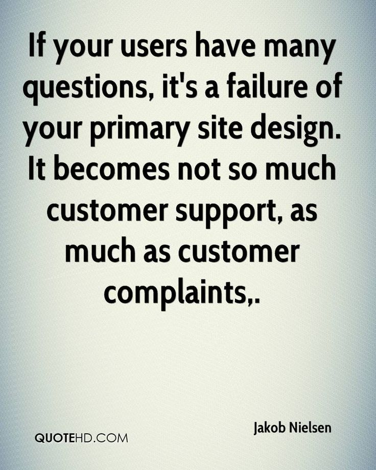 If your users have many questions, it's a failure of your primary site design. It becomes not so much customer support, as much as customer complaints.