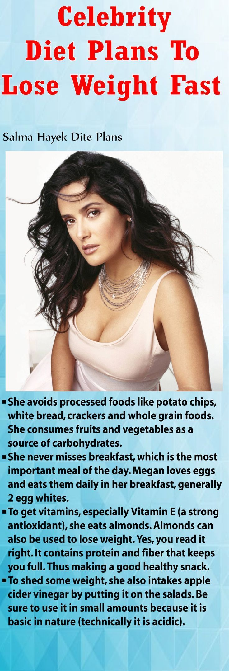 Top Celebrity Diets | Health & Beauty Singapore