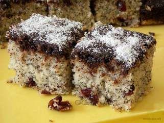 Посен колач со афион и кокос on Сè за хранаhttp://sezahrana.mk