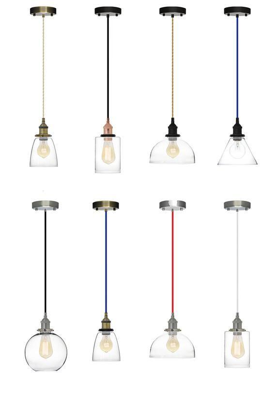 glass shade pendant light edison antique lamp kitchen island ceiling rh pinterest com