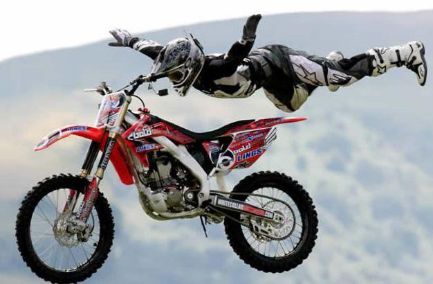 Extreme Stunt Rider Dirt Bike