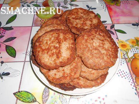 Котлеты из грецких орехов
