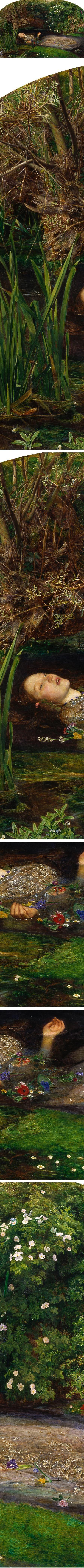Eye Candy for Today: John Everett Millais' Ophelia