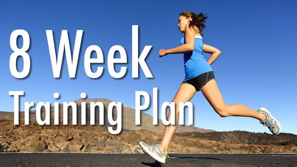 Build up to running 13.1 miles with this eight-week half marathon training plan, designed for experienced runners and both Saturday and Sunday races.