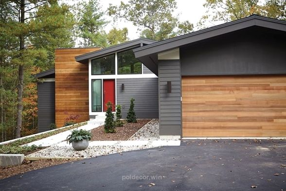 New Urban Home Builders Mid Century Modern Urban Modern Home