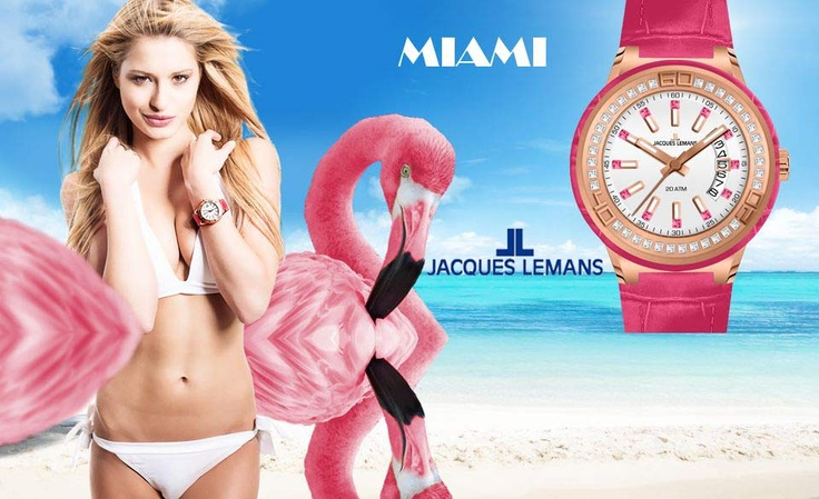 NEW Jacques LEMANS!!! MIAMI Collection! Δείτε όλη τη ΝΕΑ συλλογή μόνο στο OROLOI.GR! http://www.oroloi.gr/index.php?cPath=402=2c=2d