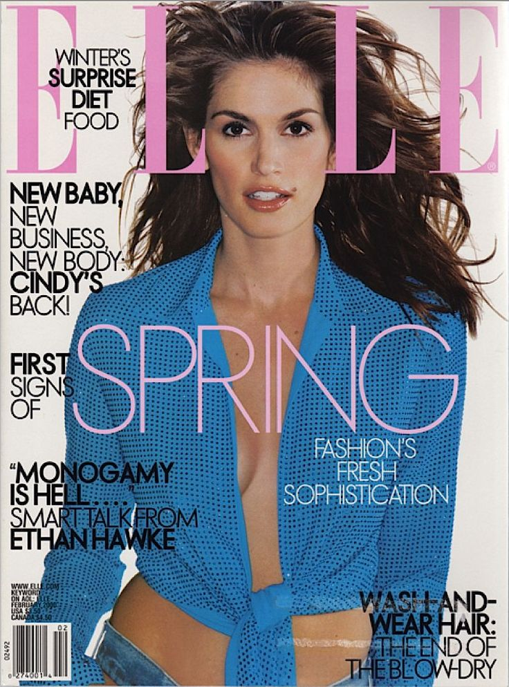 How tall is cindy crawford-6500