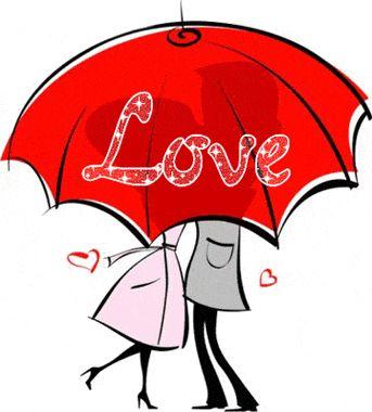Love under the umbrellllllllllla