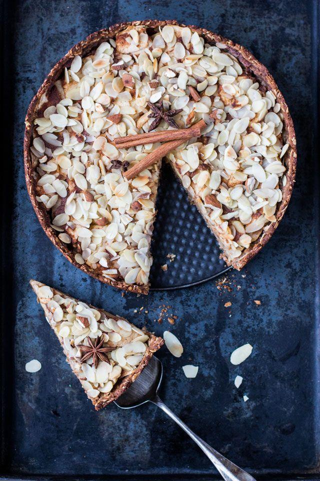 Apfelkuchen (fettarm, zuckerfrei & vegan) – Karotten für Claire
