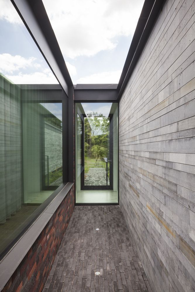 Gallery of H-Shaped House with Office / sam architects - 8